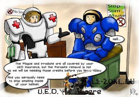 StarCraft 2 комиксы