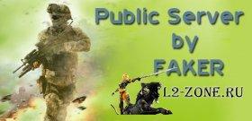 Скачать Public Server CS by FAKER