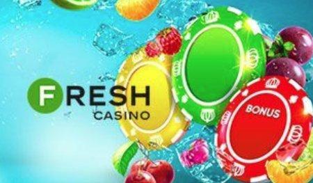 Всегда бодр, богат и свеж - исключительно с казино Фреш!